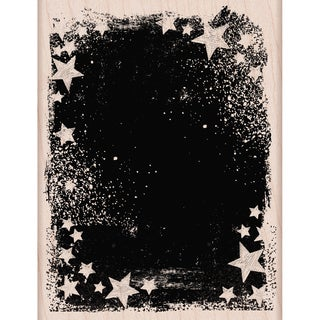 Hero Arts Mounted Rubber Stamps 4.25inX3.25in-Star Galaxy
