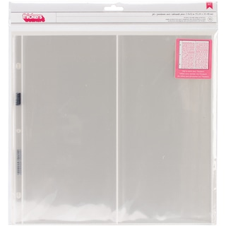 Thickers Storage Protectors 10/Pkg-12inX12in