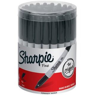 Sharpie Fine Black Canister 36/Pkg
