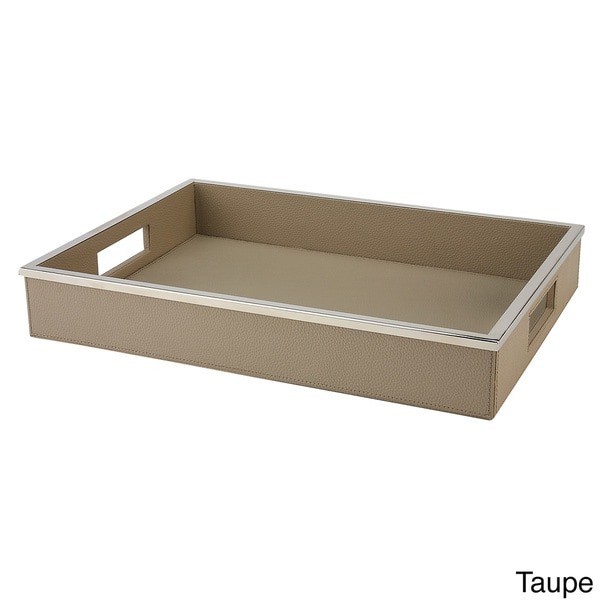 IMPULSE! Pebble Serving Tray In Cream (As Is Item)