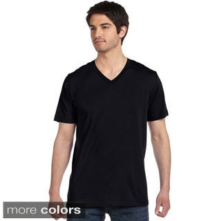 Canvas Men's Heather V-neck T-Shirt