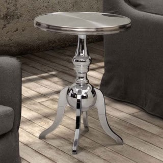 Lahaina Stainless Steel Side Table