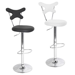 Stretched X Contemporary Bar Stool