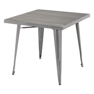 Olympia Gunmetal Dining Table