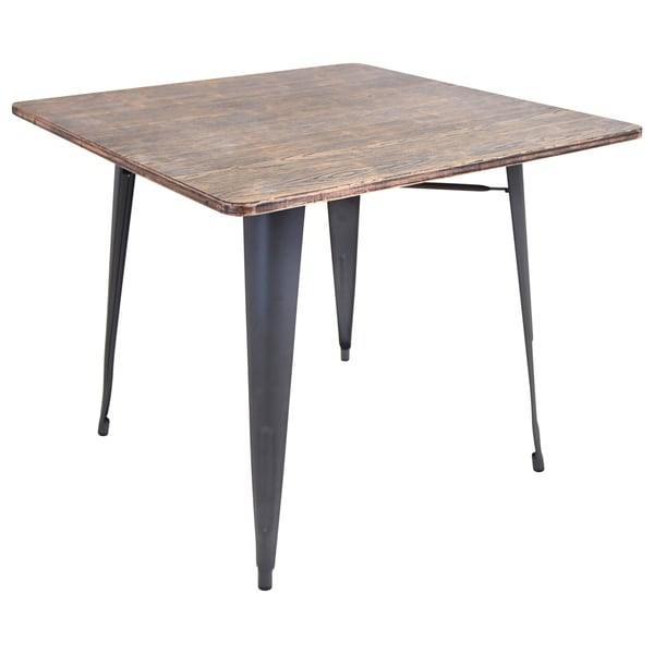 Oregon Modern Industrial Dining Table