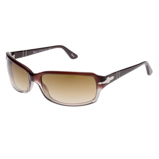 Persol Women's PO3041S-90851-62 Brown and Crystal Brown Gradient Sunglasses