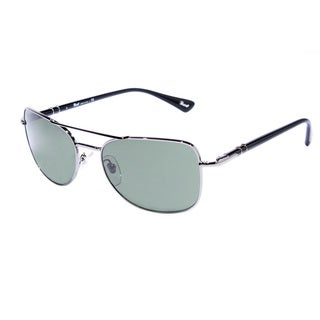 Persol Women's PO2420S-51331-56 Aviator Night Blue Sunglasses