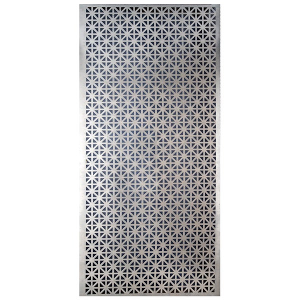 Silver Colored Metal Sheet 12inX24in-Union Jack