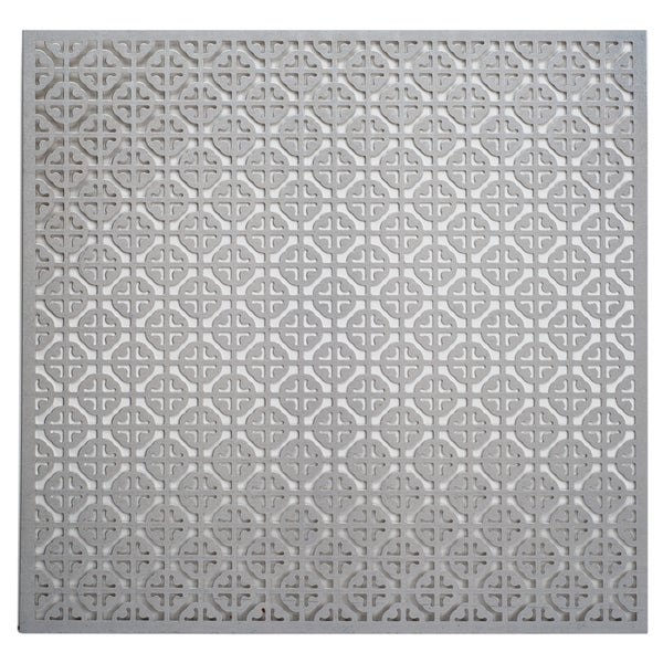 Silver Colored Metal Sheet 12inX12in-Mosaic