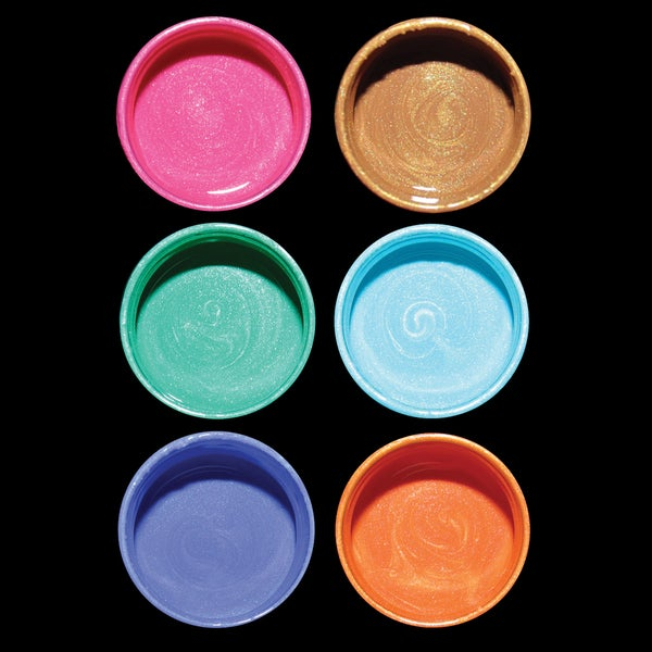 Silks Acrylic Glaze 10ml Jars 6/Pkg-Field Of Flowers