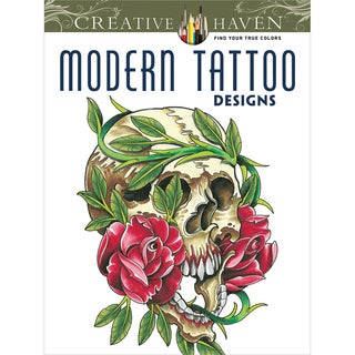 Dover Publications-Creative Haven Modern Tattoo Designs