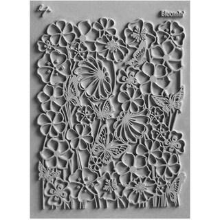 Lisa Pavelka Individual Texture Stamp 4.25inX5.5in 1/Pkg-Bloomin'