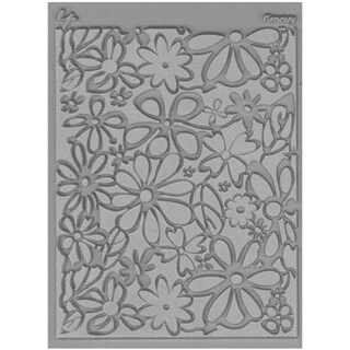 Lisa Pavelka Individual Texture Stamp 4.25inX5.5in 1/Pkg-Groovy
