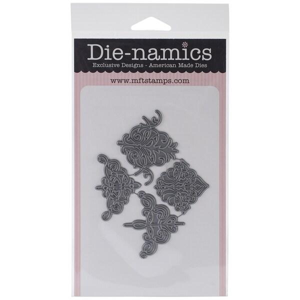 Die-Namics Die-Four Corners, 1.5inX1.5in To 2.25inX1.75in