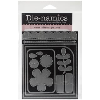 Die-Namics Dies-Blueprints #14, .5inX.25in To 4.6875in
