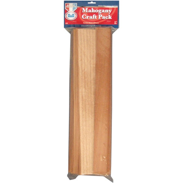 Mahogany Craft Pack 18in