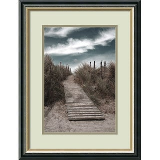 Gill Copeland 'The Pathway' Framed Art Print 19 x 23-inch