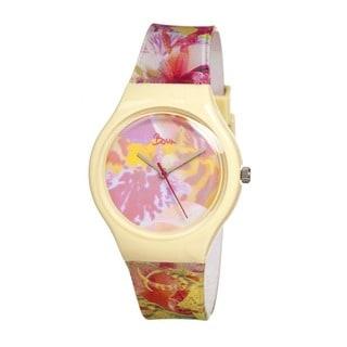 Boum Women's BM1603 'Miam' Glitter Multicolor Analog Watch