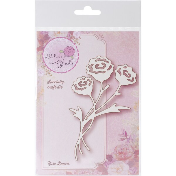 Wild Rose Studio Specialty Die 2.75inX4.75in-Rose Bunch