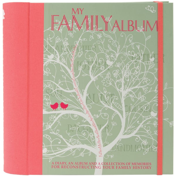 White Star Publishing Books-My Family Album