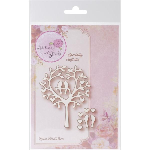 Wild Rose Studio Specialty Die 2.75inX3.25in-Love Bird Tree