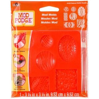 Mod Podge Mod Mold 3.75inX3.75in-Patterns