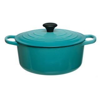 Le Creuset Caribbean 5 1/2-quart Signature Round French Oven Lidded Pot