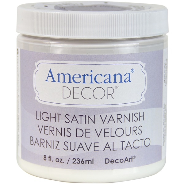 Varnish 8oz-Light Satin
