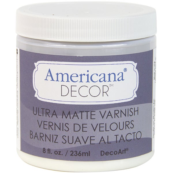 Varnish 8oz-Ultra Matte