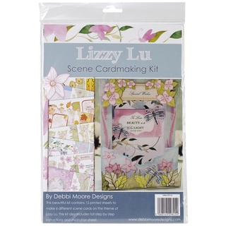 Debbi Moore Lizzy Lu Card Kit-Scenes