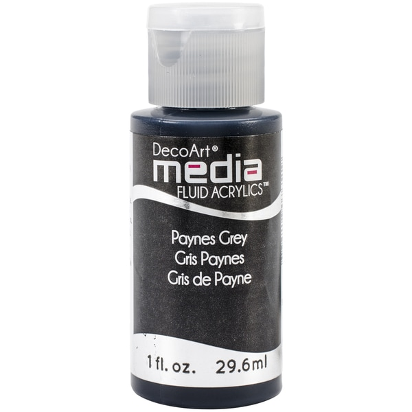 Media Fluid Acrylic 1oz-Payne's Grey (Series 3)
