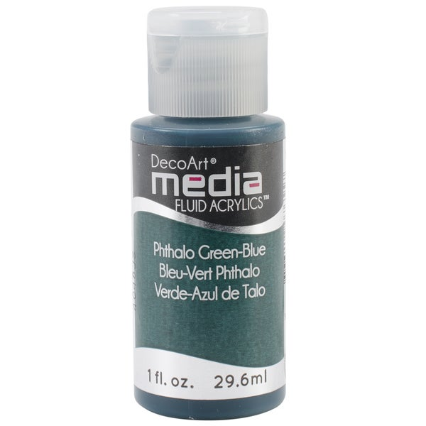 Media Fluid Acrylic 1oz-Phthalo Green-Blue (Series 3)