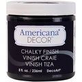 Americana Chalky Finish Paint 8oz-Carbon