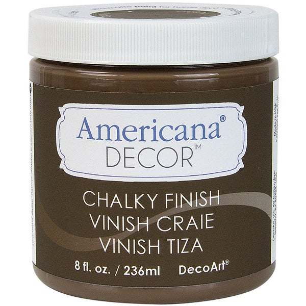 Americana Chalky Finish Paint 8oz-Rustic