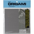 Origami Paper 24/Pkg-Double Sided Black & White 5.875inx5.875in