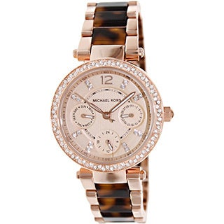 Michael Kors Women's MK5841 'Parker' Mini Two-Tone Watch