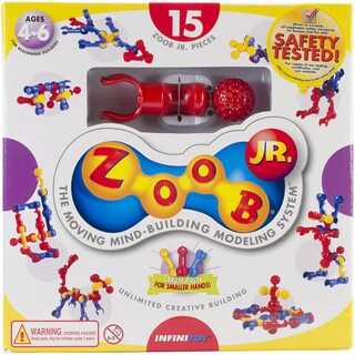 ZOOB Jr. Set 15pc-Primary Colors
