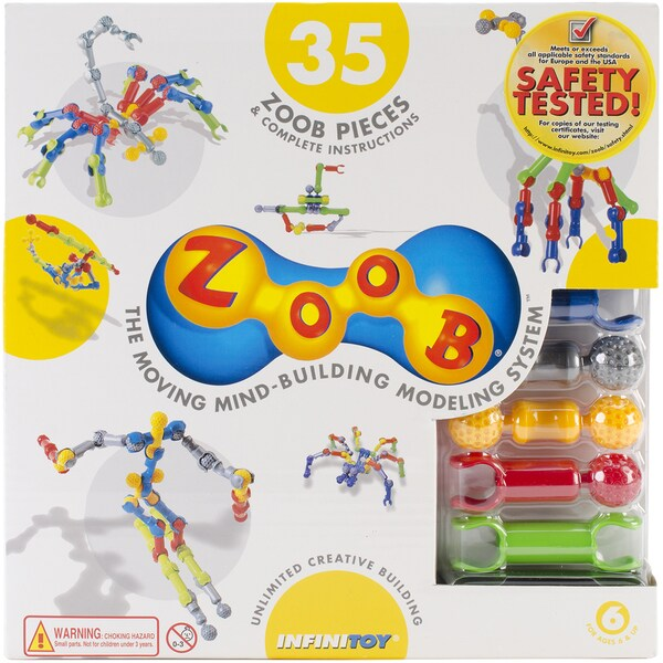 ZOOB Set 35pc-Primary Colors