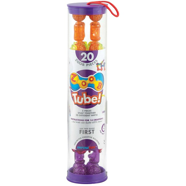 ZOOB Tube Set 20pc-Sparkle