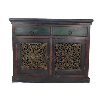 Historic 2 Drawer 2 Carved Door Buffet