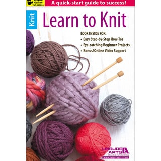 Leisure Arts-Learn To Knit