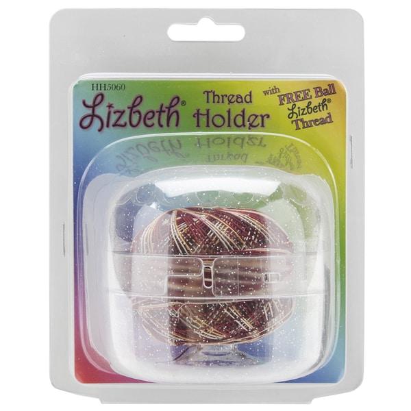 Lizbeth Thread Holder-Sparkle Clear
