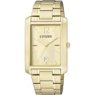 Citizen Women's Eco-Drive ER0192-55P Goldtone Stainless Steel Quartz Watch with Goldtone Dial