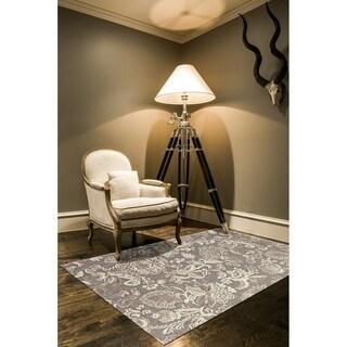 Penelope Pewter Grey Area Rug (7'6 x 10'6)