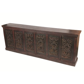 Historic 6 Carved Door Buffet