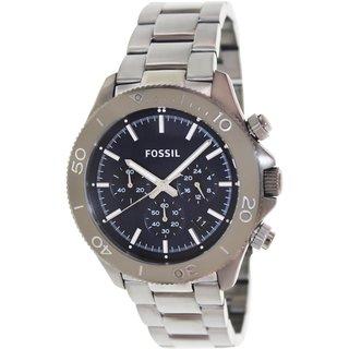 Fossil Men's Retro Traveler CH2896 Grey Stainless Steel Quartz Watch