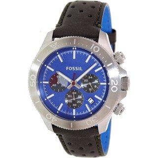 Fossil Men's Retro Traveler CH2893 Brown Leather Quartz Watch
