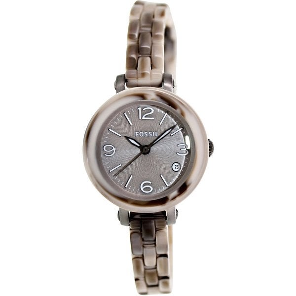 Fossil Women's Heather JR1411 Two-tone Plastic Quartz Watch