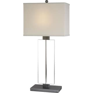 Shine Pewter Table Lamp
