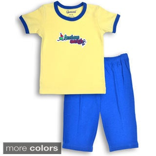 Spencer's Boys' Sailboat Tee and Pants Set